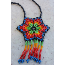 Collar Chaquira Arte Huichol Artesania Mexicana