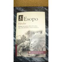Libro Fabulas Esopo