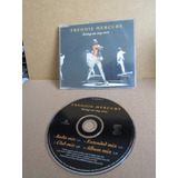 Cd Single Freddie Mercury Living On My Won