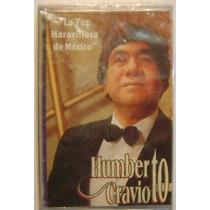 Humberto Cravioto / La Voz Maravillosa 1 Cassette Nuevo