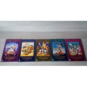 Melhor Disney Obras Completas Carl Barks Lote 3 9 10 11 12