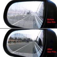 Membrana Anti Agua Para Espejos De Carro Y Moto Visibilidad