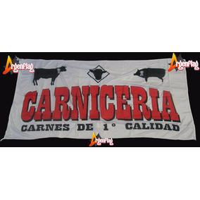 Bandera Argenflag Negocio Carniceria 150 X 90cm En Flores