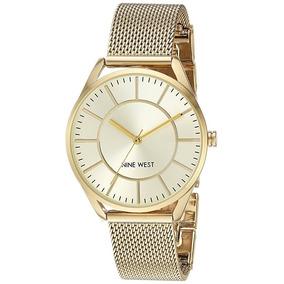 Nine West | Reloj Mujer Diseñador | Nw1922chgb | Original