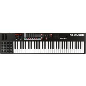 Controlador Midi M-audio Code 61 Black - Nf + Grtia