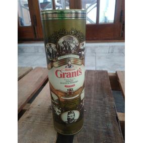 Lata Vacia Whisky William Grants