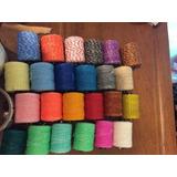 Hilo Encerado Pack De 10 Colores Con Envio Economico