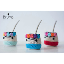 Mate Frida Funda Crochet