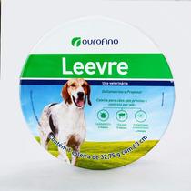 Coleira Leevre Ourofino G 63cm Verde Leishmaniose Antipulgas