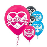 Monster High - Latex Balloons Party Accesorios