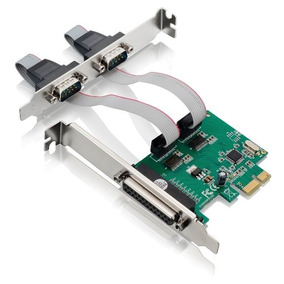 Placa Multiserial Pci Express 2 Serial + 1 Paralela Multilas
