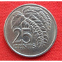Jm* Trinidad Y Tobago 25 Cents 1980 - Xf