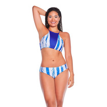 Vestido De Baño 2 Piezas Reversible/ Ref Bora