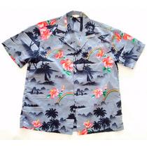Camisa Hawaiana Tropical Surf Hombre Talle Xxl