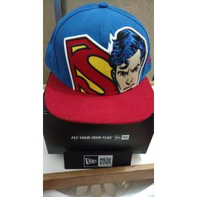 Bones Da New Era Aba Reta Do Superman - Bonés no Mercado Livre Brasil fa82a387a51