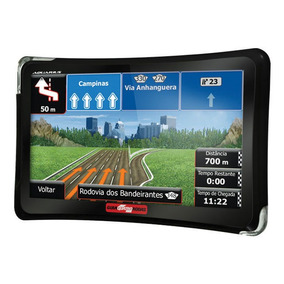 Navegador Gps Quatro Rodas 5 Pr Slim Tv Digital Aquarius