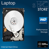 Disco Duro 2.5 320gb Laptop Western Digital Wd Black (7200)