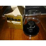 Lente Para Ampliadora El-nikkor 50mm F/4