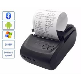 Mini Impressora Portatil Termica Bluetooth Android 58mm