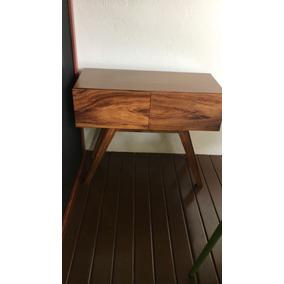 Muebles De Madera Nacaxtle Con Dos Cajones De 0.40x0.90x0.70