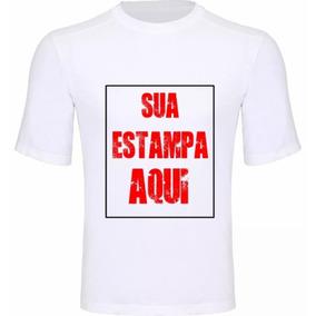 Camisetas Personalizadas Estampa Tamanho A4