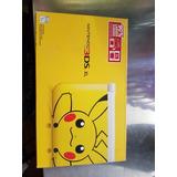 Nintendo 3ds Xl Versión Pikachu Con Carcasa