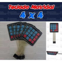 Teclado Matricial 4x4 (keypad) - Arduino, Pic, Avr