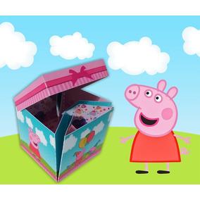 40 Convites Caixinha Peppa Pig Personalizado Aniversario