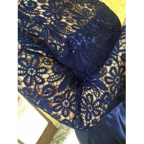Vestido Longo De Festa Madrinha De Casamento Azul Royal Novo