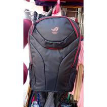 Backpack Asus Republic Of Gamers Rog Para Laptop De 15 Nueva
