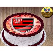 Papel De Arroz Flamengo  A4  Para Bolo