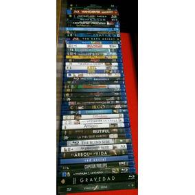 Lote De Películas En Blu-ray Seminuevas En Perfecto Estado.