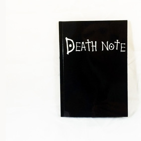 Caderno Da Morte Death Note L Kira Ryuk Super Promo