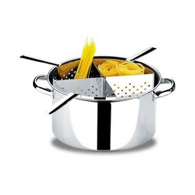 Espagueteira Inox Brinox Savoy Com 4 Divisões - 1075-200