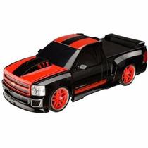 Carrinho De Controle Remoto Pick Up Chevrolet Silverado 1:18