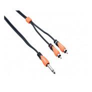 Cable Bespeco Plug Mono A 2 Rca 1,8mts Slyjrm180 Cuotas