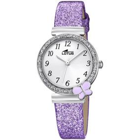 Reloj 18584/4 Morado Lotus Niño Junior Collection