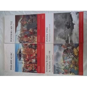Lote 21 Livros Coleção Campaign Osprey Publishing Guerra Ing
