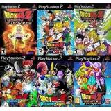 Dragon Ball Z Budokai Tenkaichi Coleccion 6 Juegos Para Ps2.