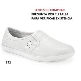 Zapatos Flexi Para Dama Color Blanco (doctora) Mod. 34402