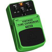 Pedal Behringer P/ Guitarra To800 Vintage Tube Overdrive - Com Nota Fiscal E Garantia De 2 Anos Proshows !