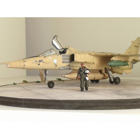 Avion Jaguar 1/72 Hasegawa Desert Storm Armado Y Listo