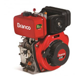 Motor À Diesel 5,0cv Partida Elétrica Motor Bd-5.0 Branco