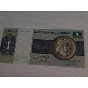 L-1755 - C-129a 1 Linda Cédula Cr$ 1,00 Asterísco 1970