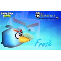 Agry Birds Frosh Ice