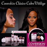Maquillaje Corrector Cubritivo Coverskin 7g + Primer + Polvo