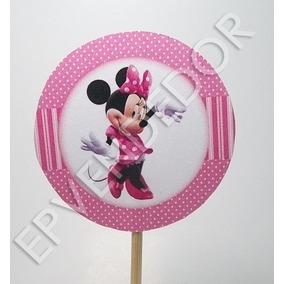 20 Topes Para Ponquesitos Minnie Mouse - Epvendedor