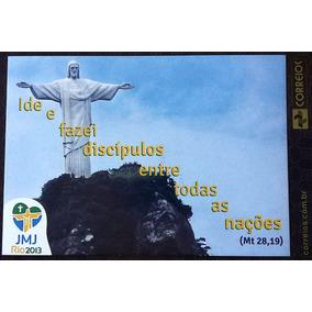 Cartao Postal Jmj Jornada Juventude Papa Francisco 2013