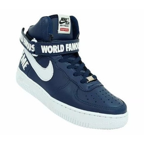 Calçado Feminino E Masculino - Nike Supreme Air Force Swag