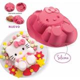Molde De Silicona Hello Kitty Tupperware! Nuevos!